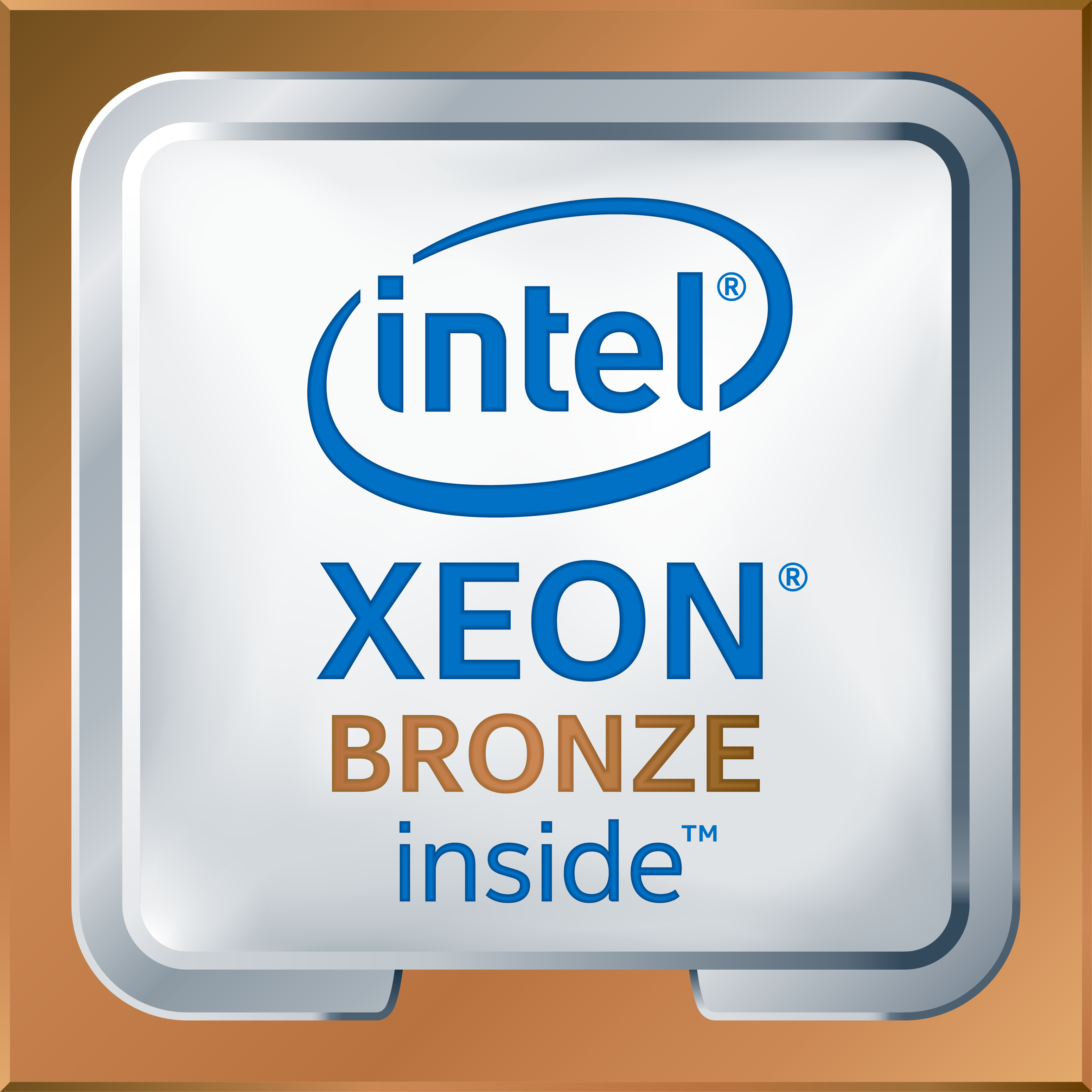 Intel Xeon Bronze Logo High Res Transparent 2017
