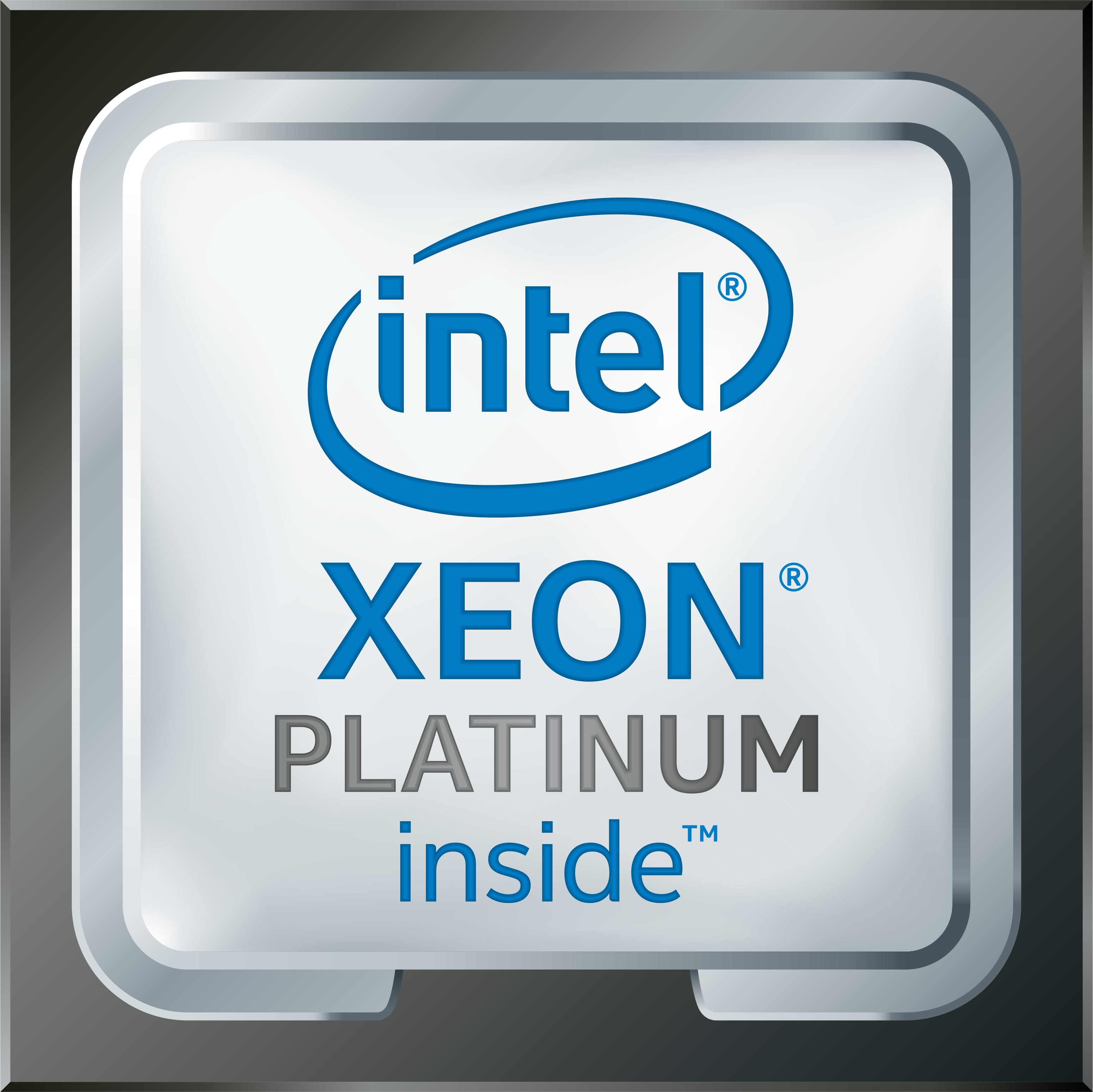 Intel Xeon Platinum Logo High Res Transparent 2017