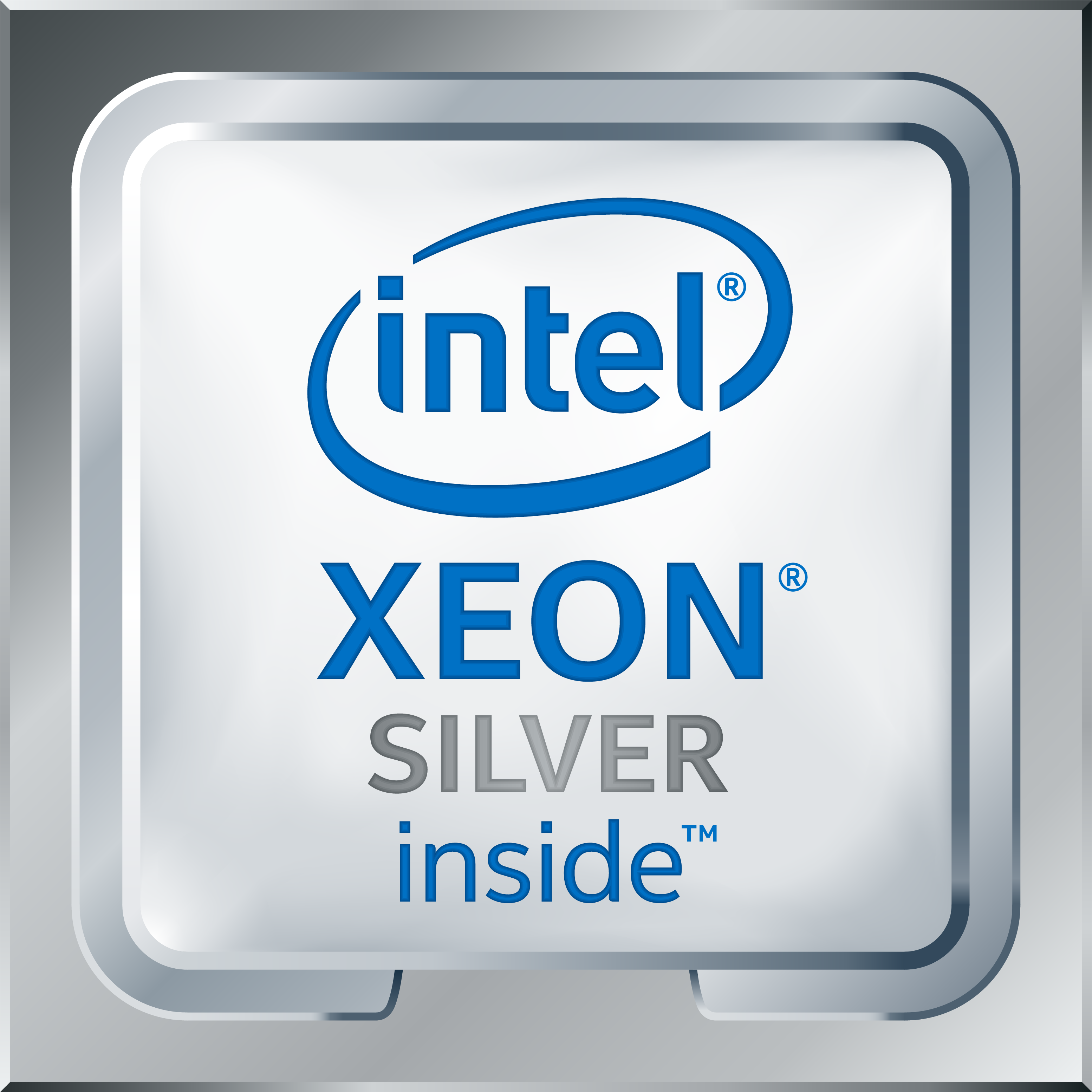 Intel Xeon Silver Logo High Res Transparent 2017
