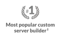 Thinkmate is the #1 most popular server builder