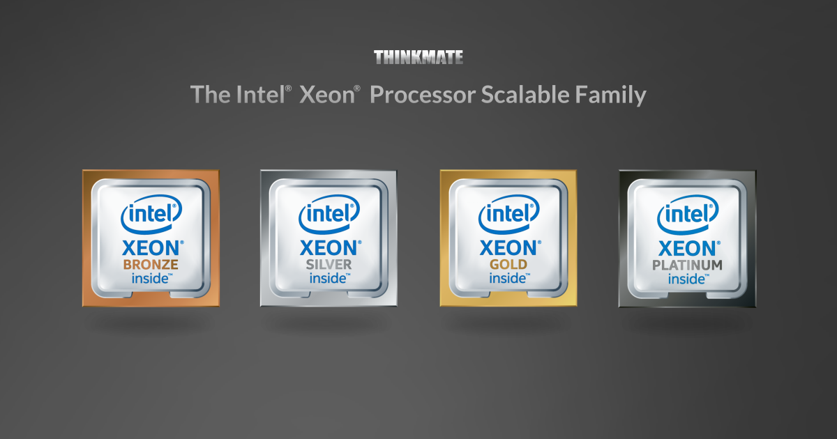 Intel Xeon Scalable What You Need To Know Thinkmate