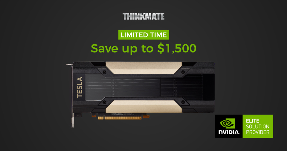 New Tesla GPU price - Inside Thinkmate