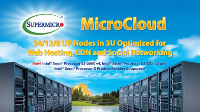 Supermicro MicroCloud - Thinkmate