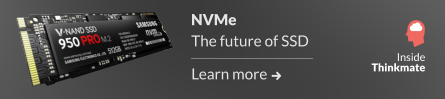 NVMe - The Future of SSD. Learn more.